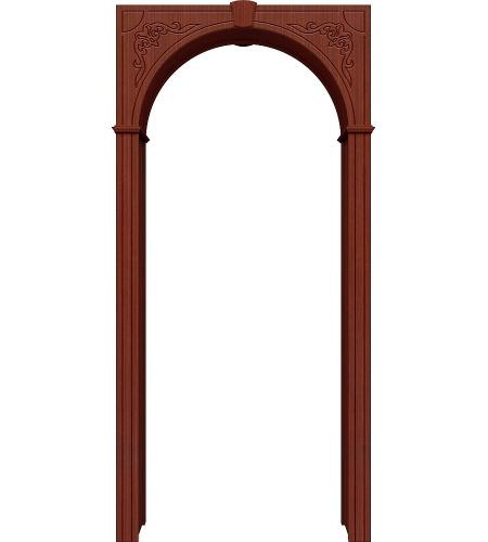 Межкомнатная арка «Муза» шпон