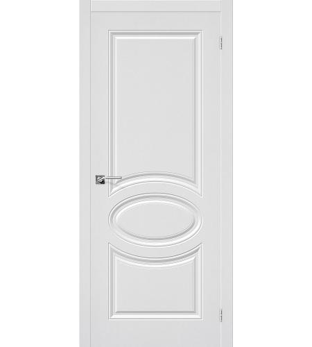 Межкомнатные двери  Дверь межкомнатная ПВХ «Статус-20»  П-23 (Белый)