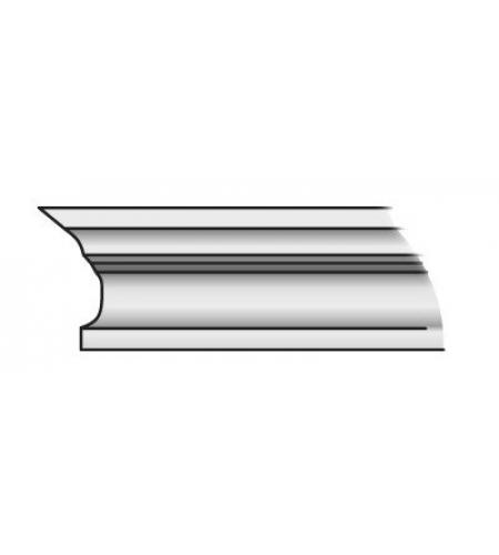 Карниз Тип-3 80 см  Т-07 (Белый Воск)