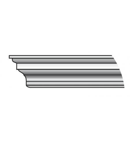Карниз Тип-1 90 см  Silver Ash (порталы в сборе)