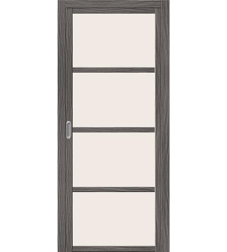 Раздвижные двери  Дверь раздвижная (купе) межкомнатная «Твигги V4»  Grey Veralinga
