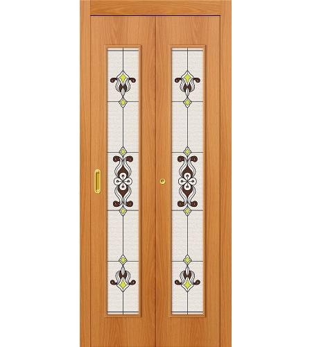 Дверь складная межкомнатная ламинированная 23Х