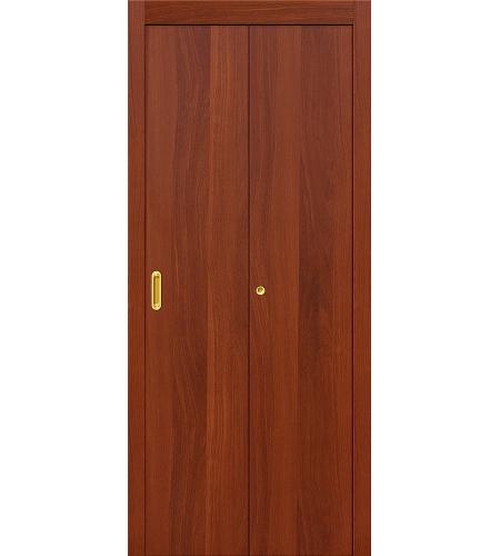 Складные двери  Дверь складная межкомнатная ламинированная Гост  ИталОрех