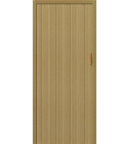 Складные двери  Складная дверь-гармошка ДСК 007  Светлый Дуб