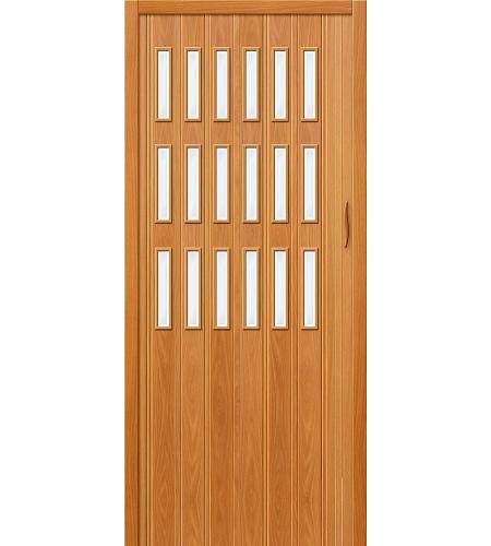 Складные двери  Браво-018  МиланОрех