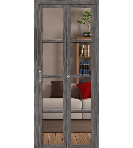 Дверь складная «Твигги V4 Crystalline»