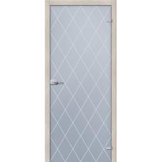 Стеклянная дверь межкомнатная «Кристалл»