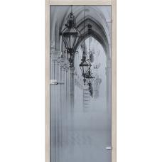 Стеклянная дверь межкомнатная «Аркада Люкс »