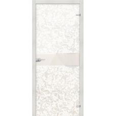 Стеклянная дверь межкомнатная «Флори »
