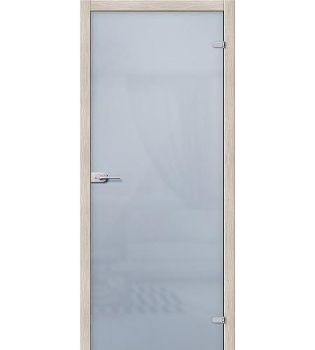 Межкомнатные двери  Стеклянная дверь межкомнатная «Лайт »  Белое Сатинато