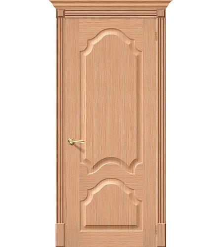 Межкомнатные двери  Дверь межкомнатная шпонированная «Афина»  Ф-01 (Дуб)