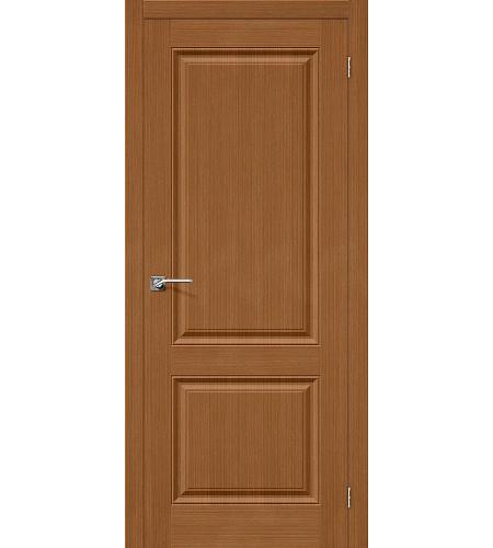 Межкомнатные двери  Дверь межкомнатная шпонированная «Статус-12»  Ф-11 (Орех)