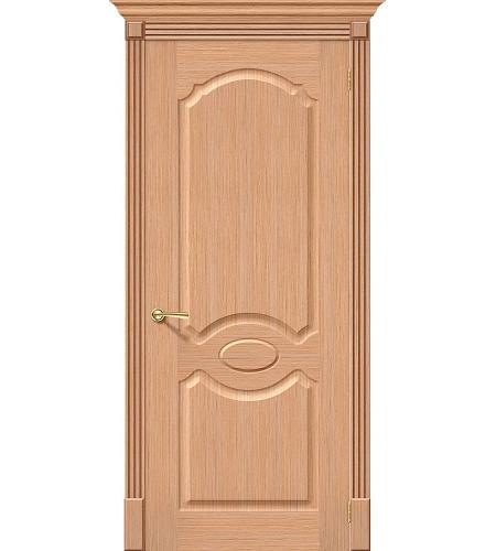 Межкомнатные двери  Дверь межкомнатная шпонированная «Селена»  Ф-01 (Дуб)