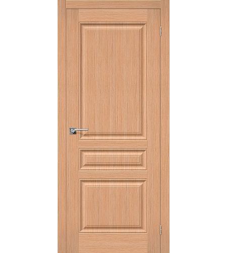 Межкомнатные двери  Дверь межкомнатная шпонированная «Статус-14»  Ф-01 (Дуб)