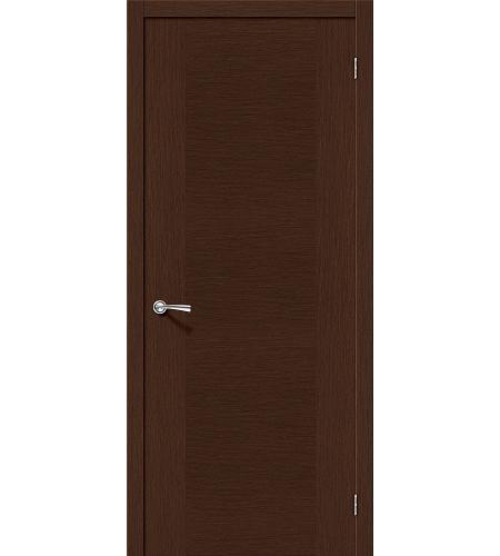 Межкомнатные двери  Дверь межкомнатная шпонированная «Рондо»  Ф-27 (Венге)