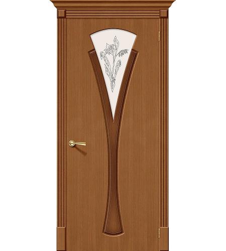 Дверь межкомнатная шпонированная «Флора»