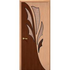 Дверь межкомнатная шпонированная «Дуэт»
