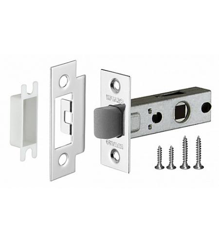 Фурнитура для дверей  Защелка P12-45-25  CP Хром