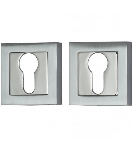 Фурнитура для дверей  Накладка для замка A/Z-2CL  SC МатХром