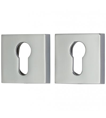 Фурнитура для дверей  Накладка для замка A/Z-9CL  C Хром