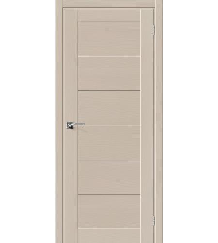 Межкомнатные двери  Межкомнатная дверь «Модерн-21» шпон  Latte