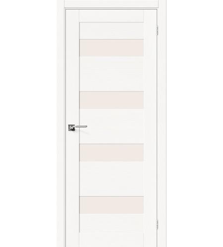 Межкомнатные двери  Межкомнатная дверь «Модерн-23» шпон  Whitey