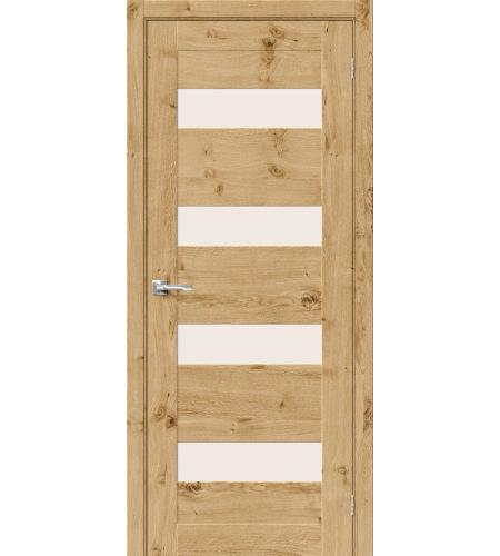 Межкомнатные двери  Межкомнатная дверь «Модерн-23» шпон  Barn Oak