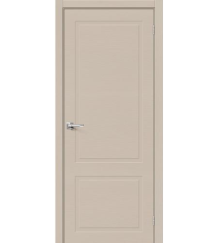 Межкомнатные двери  Межкомнатная дверь «НеоКлассик-12.H» шпон  Latte