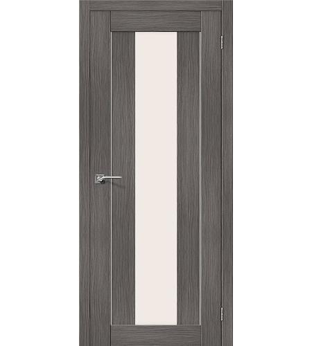 Межкомнатные двери  Порта-25 alu  Grey Veralinga