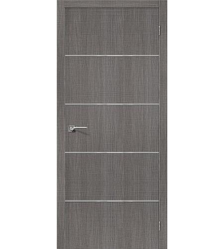 Межкомнатные двери  Порта-50А-6  Grey Crosscut