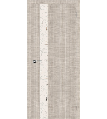 Межкомнатные двери  Порта-51 SA  Cappuccino Crosscut