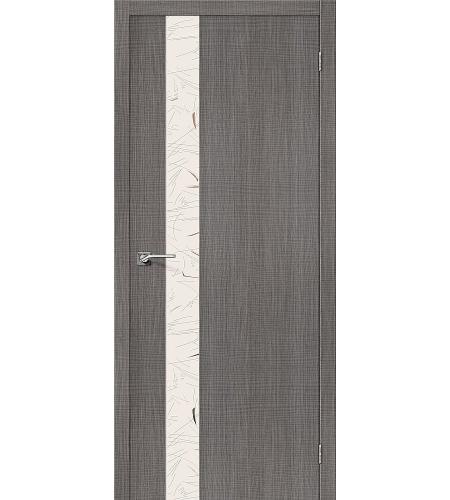 Межкомнатные двери  Порта-51 SA  Grey Crosscut