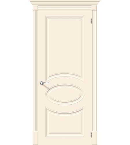 Межкомнатные двери  Межкомнатная дверь эмаль «Скинни-20»  Cream