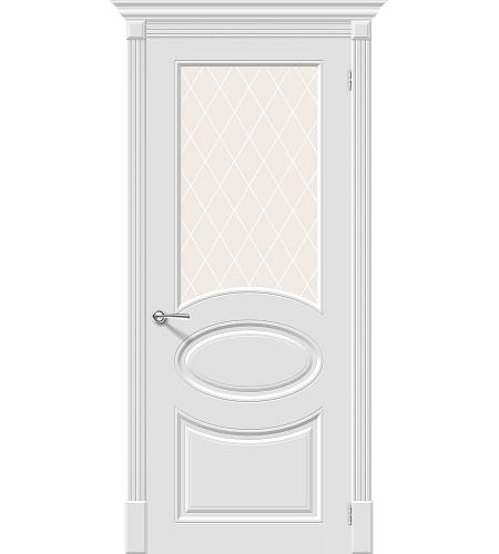 Межкомнатные двери  Межкомнатная дверь эмаль «Скинни-21»  Whitey