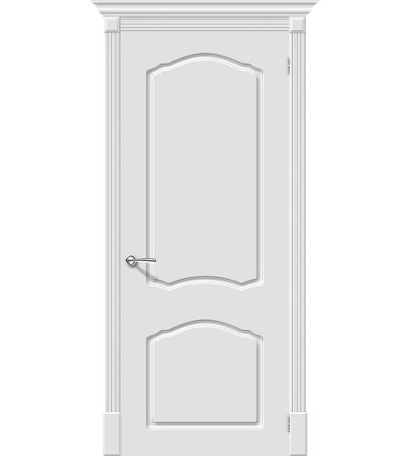 Межкомнатные двери  Межкомнатная дверь эмаль «Скинни-30»  Whitey