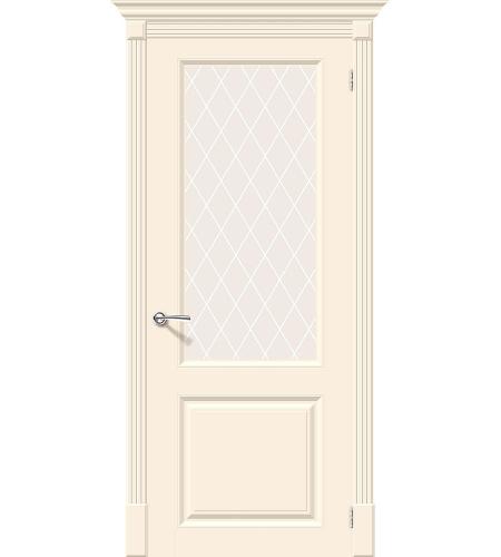 Межкомнатные двери  Межкомнатная дверь эмаль «Скинни-13»  Cream
