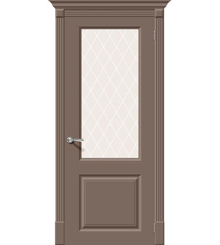 Межкомнатные двери  Межкомнатная дверь эмаль «Скинни-13»  Mocca