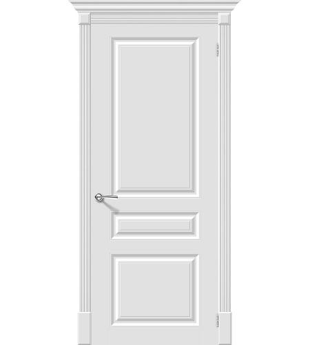 Межкомнатные двери  Межкомнатная дверь эмаль «Скинни-14 »  Whitey