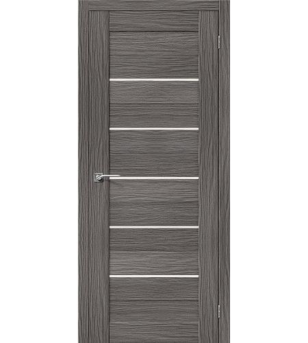Межкомнатные двери  Межкомнатная дверь «Порта-22» МДФ  3D Grey