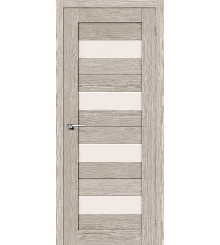Межкомнатные двери  Межкомнатная дверь «Порта-23» МДФ  3D Cappuccino