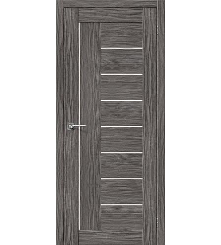 Межкомнатные двери  Межкомнатная дверь «Порта-29» МДФ  3D Grey