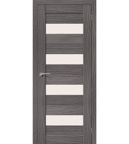 Межкомнатные двери  Межкомнатная дверь «Порта-23» МДФ  3D Grey