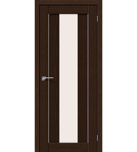 Межкомнатные двери  Межкомнатная дверь «Порта-25 alu» МДФ  3D Wenge