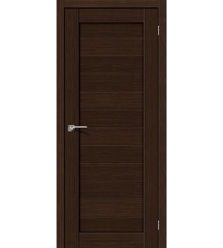 Межкомнатные двери  Межкомнатная дверь «Порта-21» МДФ  3D Wenge