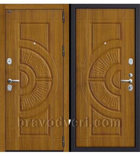 Входные двери  Р3-312  П-4 (Золотой Дуб)/П-4 (Золотой Дуб)