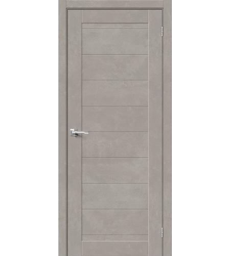 Межкомнатные двери  Браво-21  Gris Beton