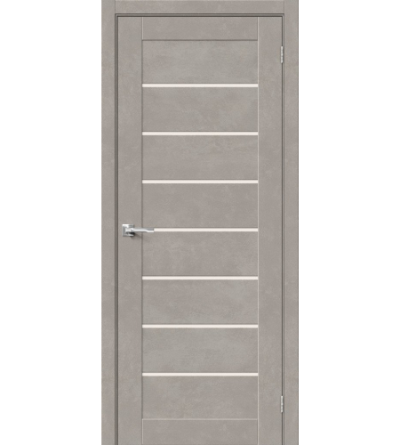 Межкомнатные двери  Браво-22  Gris Beton