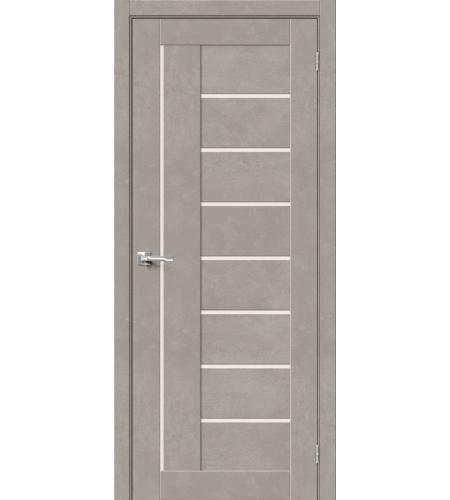 Межкомнатные двери  Браво-29  Gris Beton