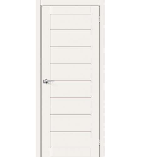 Межкомнатные двери  Браво-22  White Mix