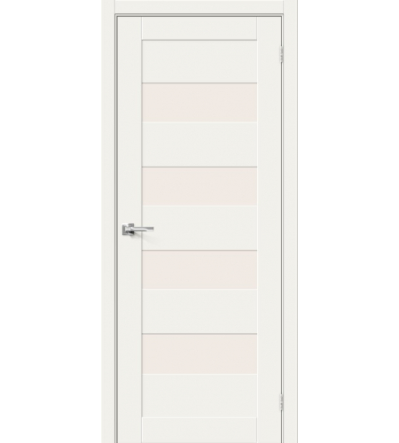Межкомнатные двери  Браво-23  White Mix